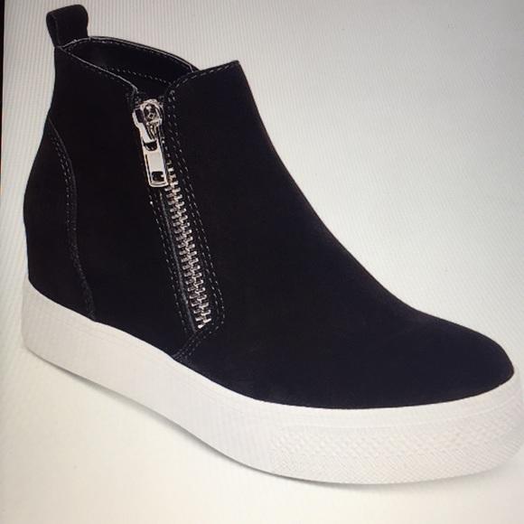 3d2a229a581 Steve Madden Women's Wedgie Wedge Sneaker-7.5-NWT Boutique
